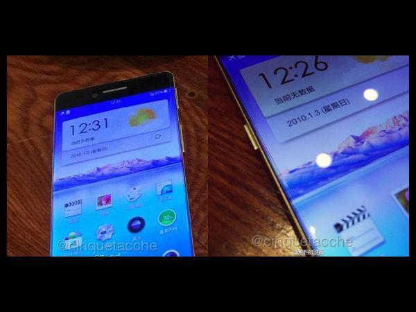 Oppo R7 Leaks Again Flaunting Bezel-less Design [PICS]