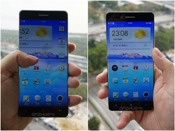 Oppo R7 Leaks Again Flaunting Bezel-less Design [PICS]