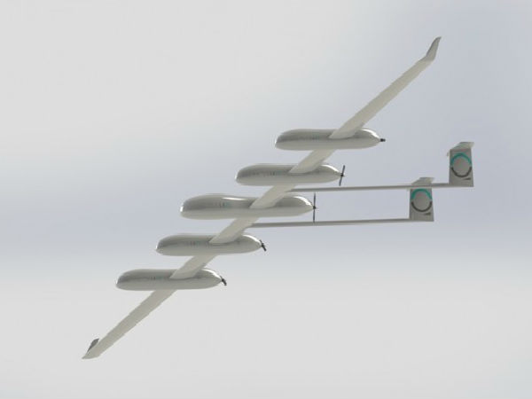 Quarkson's Solar Powered Drone To Provide WiFi Connectivity