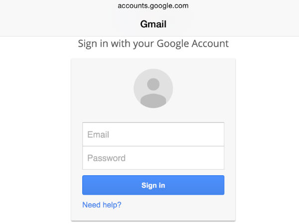 Easy Google Logins
