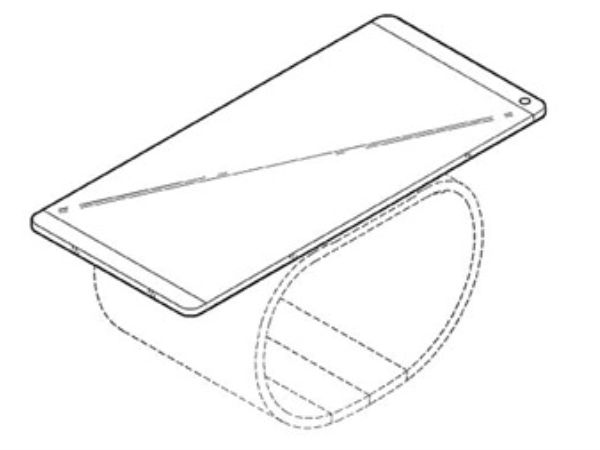 LG New Patent Comes with A Bendable Phone-Watch Hybrid Device