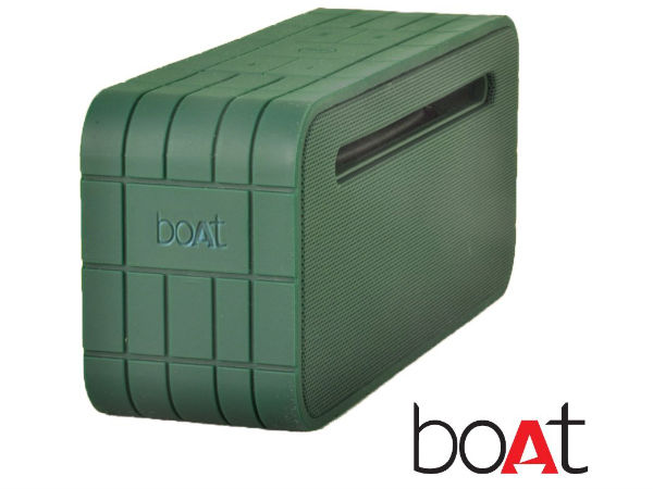 boAt Launches Bluetooth Enabled Rugged Speaker at Rs 2,919 on Amazon