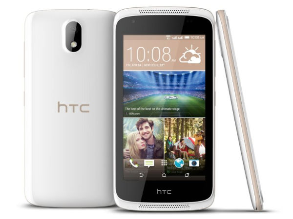 HTC Desire 326G with 4.5-inch Display, 8MP Camera Launched in India