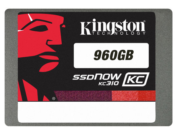 Kingston Launches 960GB KC310 Solid State Drive