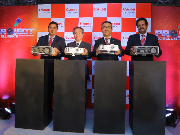 Canon India Launches Series of Projectors under LV and XEED series