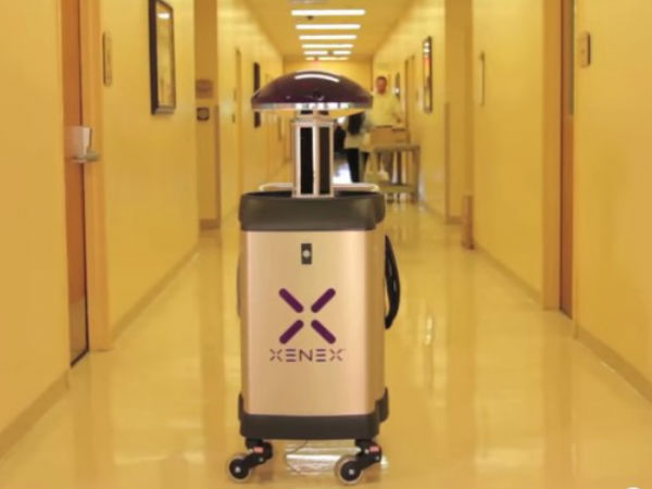 Star Wars-like Robot to Clean Hospital Rooms