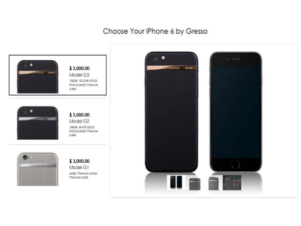 iPhone 6 Gets Customized with Gresso's Treatment