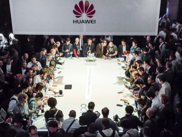 Huawei Unveils P8 'Flagship' Android Smartphone in London