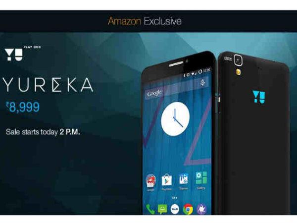 20,000 Yu Yureka Units to go on Flash Sale Today on Amazon India