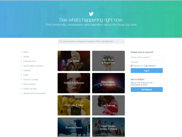Twitter Reveals Newly Revamped Homepage To Attract New Users