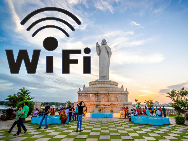 Free WiFi Service rolled out around Hyderabad's Hussain Sagar