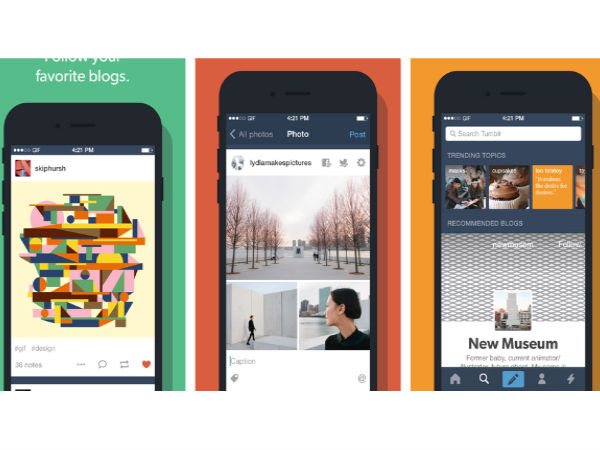 Tumblr 4.0 Comes Updated to the iOS Platform