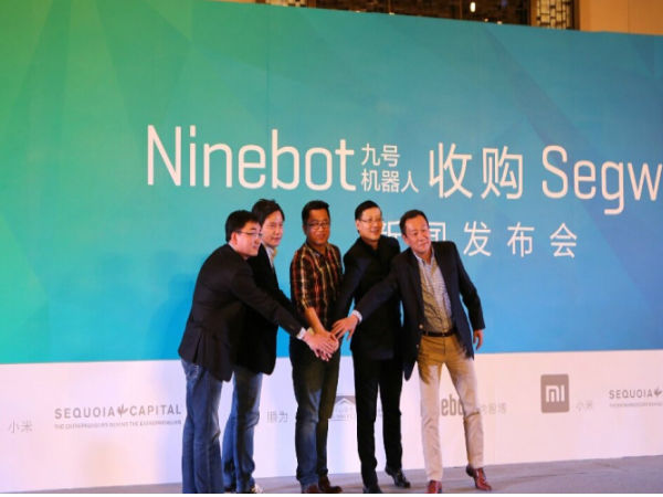 Xiaomi Backed Ninebot to Acquire Segway