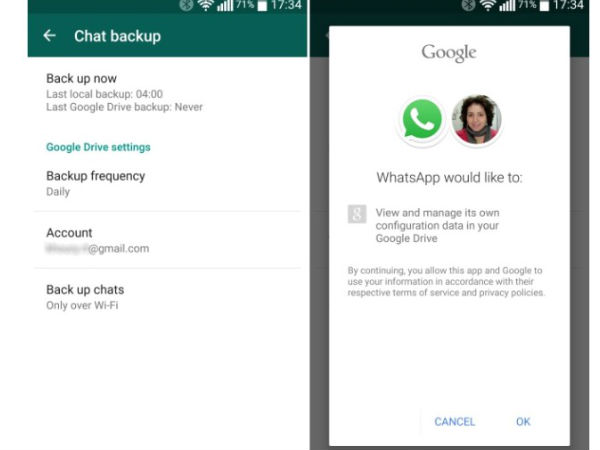 How to Backup Whatsapp Chats on Google Drive