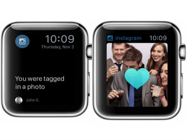 Instagram Marks An Entry In Wearables Space With Apple Watch app