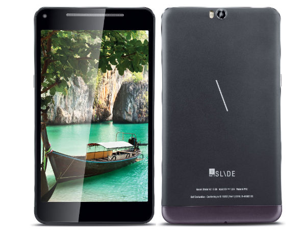 iBall Launches a 7-inch Display Budget Tablet with Octa-Core CPU