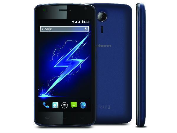 Karbonn Alfa A120 With 3,000 mAh Battery Launched at Rs 4,590