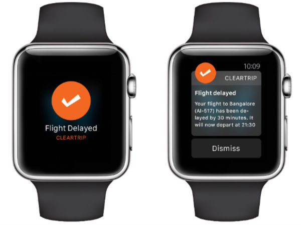 Clear Trip Releases iOS Application for Apple Watch