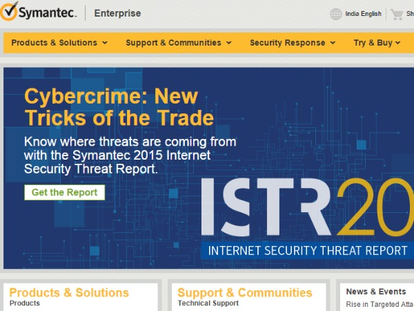 Cyber attackers exploiting security gaps very quickly: Symantec