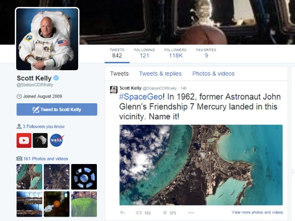 Join Twitter Geography Trivia from Space