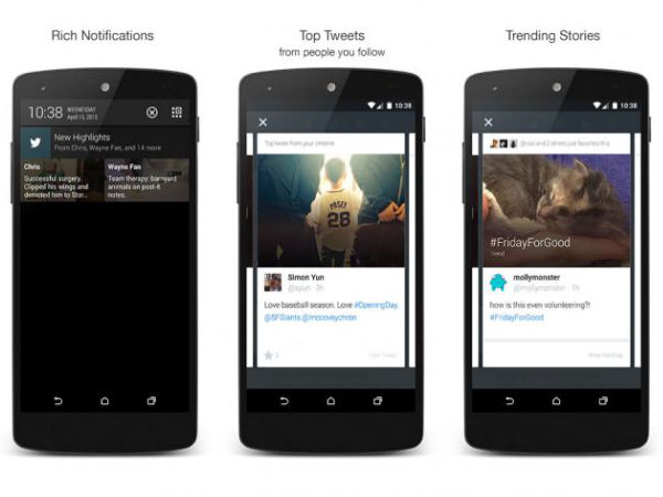 Twitter Launches 'Highlights' To Help Android Users With Latest Tweets