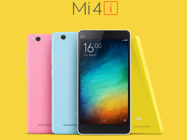 Xiaomi Mi 4i vs Mi4: The Difference Between The Two