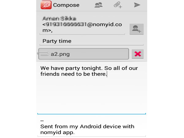 NoMyId: Now Send Emails To Any Mobile Number