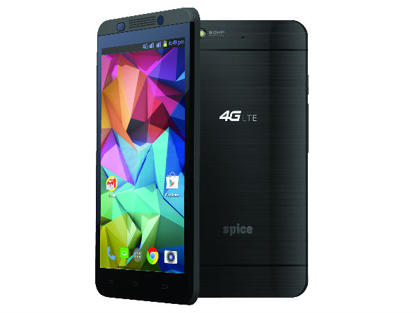 Spice Stellar 519 with 4G LTE Support Launched at Rs 8,499