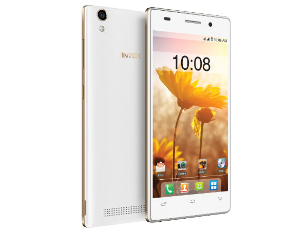 Intex Aqua Power+ with 5-inch Display, Android 5.0 Launched