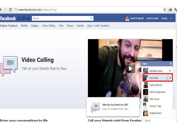 Facebook Includes Video Call To Messenger For Android And iOS
