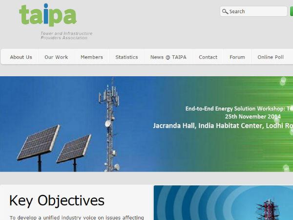 TAIPA seeks Prasad's help over Tower rule Mismatch