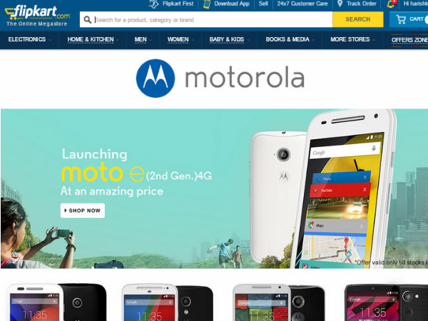 Motorola to continue exclusive tie-up with Flipkart