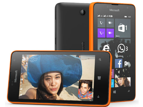 Microsoft Lumia 430 with 3G, Dual-SIM Launched at Rs 5,299