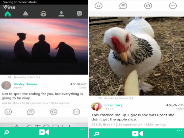 Vine Receives Update For Windows 8.1: Cool New Features Added