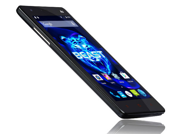 iBerry Auxus BEAST with Octa-Core CPU, 3GB RAM, 4G LTE Launched