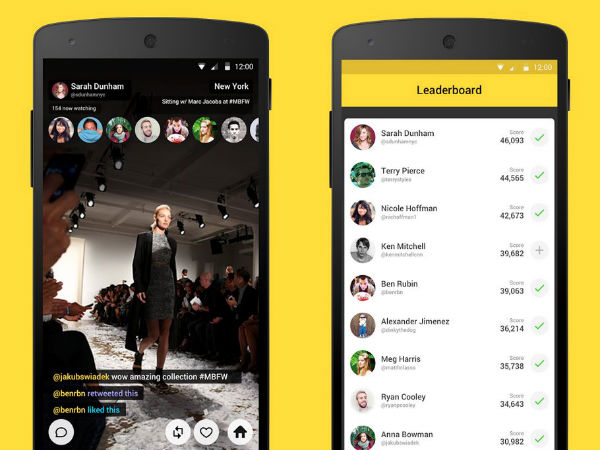 Meerkat (Beta) Launches Live Streaming App For Android