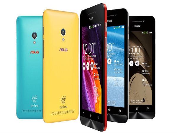Asus Zenfone 5 LTE Gets Android Lollipop 50 Update