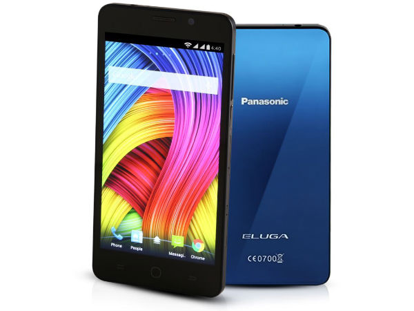Panasonic ELUGA with 5-inch Display, 4G LTE Launched