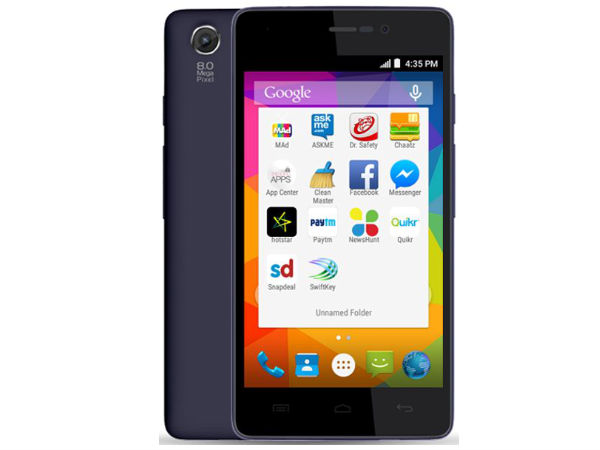 Micromax Canvas Unite 3 with 4.7-inch Display, Quad-Core CPU Listed