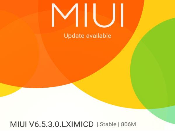 Xiaomi Mi 4i Gets Software Update