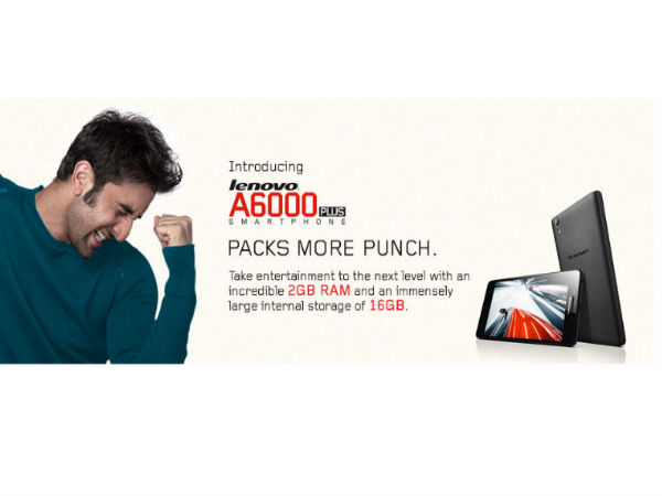 Lenovo A6000 Plus with Dolby Digital Speakers to Go on Flash Sale