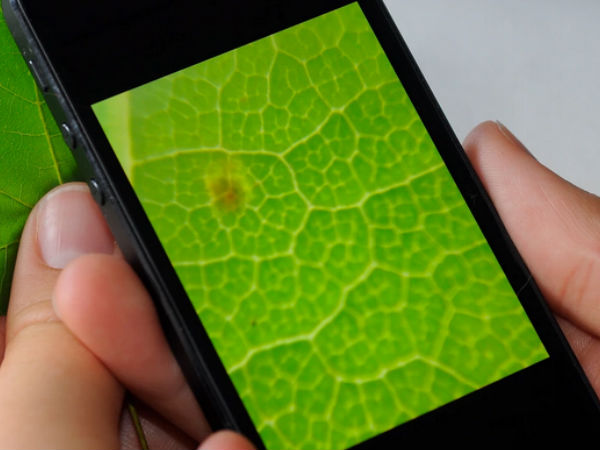 Unique lens turns Smartphone into Microscope
