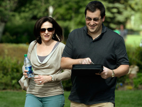 Husband of Facebook's Sandberg Died on Treadmill: Official