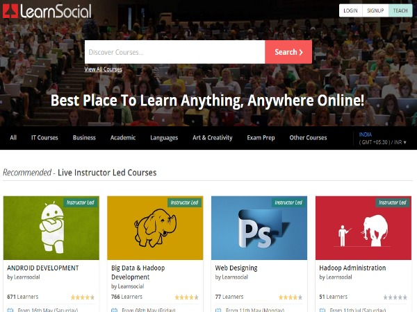 LearnSocial platform to aid teaching, learning from anywhere