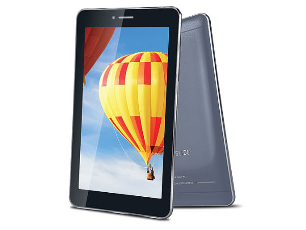 iBall Slide 3G Q45 with 7-inch Display, 3G Listed on the Website