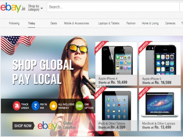 eBay Starts Scheme to sell imported Products at 60% less rates