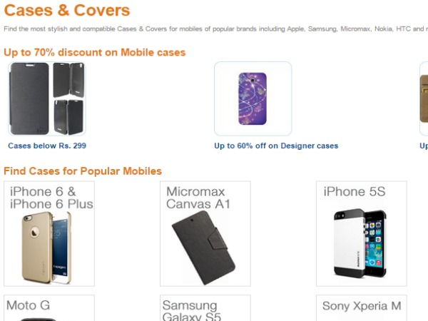 UPTO 70% OFF ON MOBILE CASES