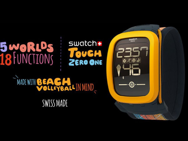Swatch Smartwatch Battery will last Six Months, says Report