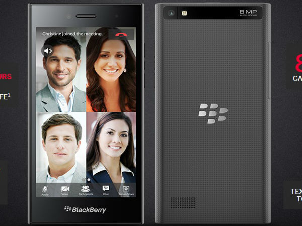 BlackBerry Ditches Keyboard for new Leap Smartphone