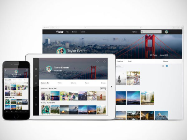 Flickr Redesigns Web and Mobiles Apps To Take on Google
